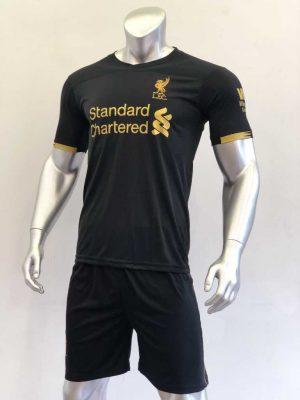 Quần áo bóng đá Liverpool màu Đen mùa giải 19-20