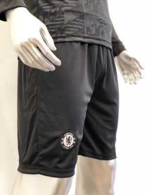 Quần áo bóng đá CHELSEA màu Đen Tay Dài mùa giải 19-20