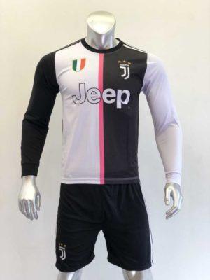Quần áo bóng đá Juventus màu Trắng Đen mùa giải 19-20
