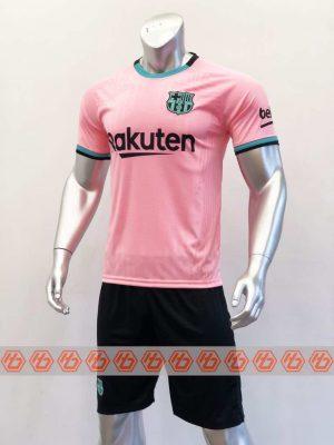 Quần áo bóng đá BARCELONA màu Hồng mùa giải 20-21