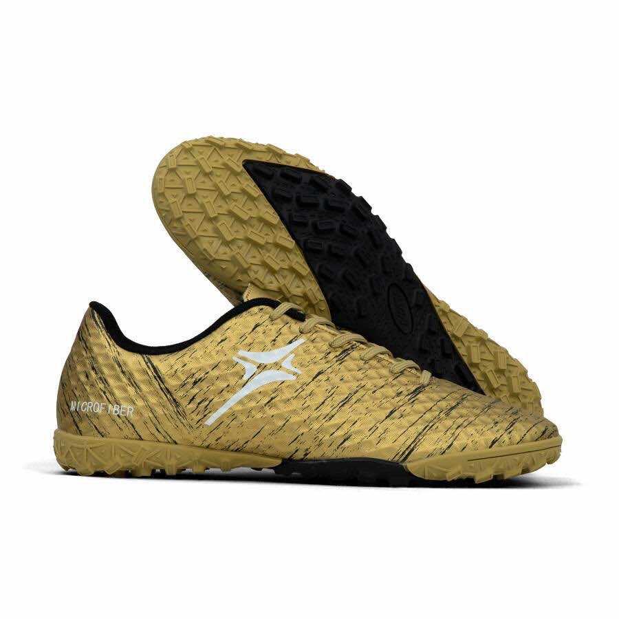 Giày đá banh Đế đinh TF IWIN IMPRO MICROFIBER M01 Sân cỏ nhân tạo màu Đồng mới