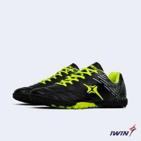 Giày đá banh Đế đinh TF IWIN IMPRO M02 Sân cỏ nhân tạo màu Đen mới
