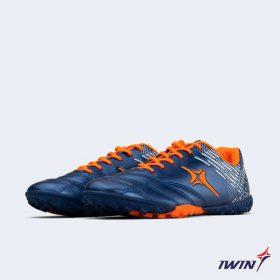 Giày đá banh Đế đinh TF IWIN IMPRO M02 Sân cỏ nhân tạo màu Xanh Dương mới
