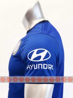 Quần áo bóng đá Chelsea màu Xanh Bích Tay ngắn mùa giải 20-21