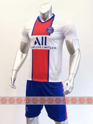 Quần áo bóng đá PSG màu Trắng mùa giải 20-21