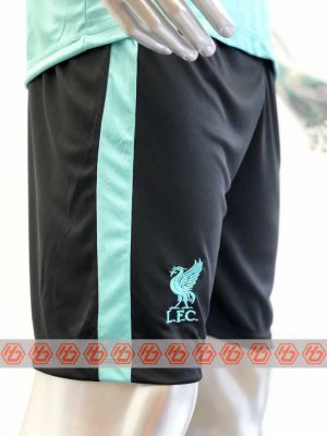 Quần áo bóng đá Liverpool màu Xanh Ngọc mùa giải 20-21
