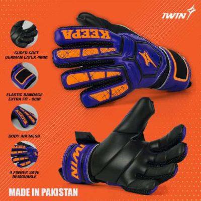 Găng tay thủ môn Iwin Keepa Pro GK01 màu Xanh