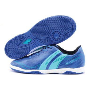 Giày đá banh PAN SUPER SONIC IC màu xanh bích