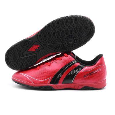 Giày đá banh PAN SUPER SONIC IC màu Đỏ