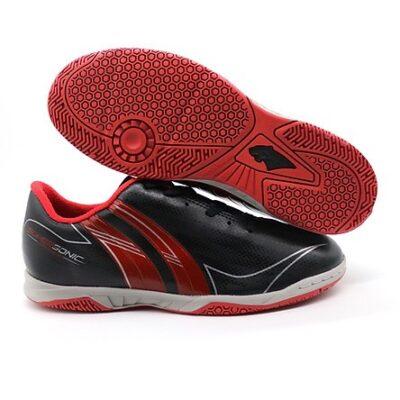 Giày đá banh PAN SUPER SONIC IC màu đen