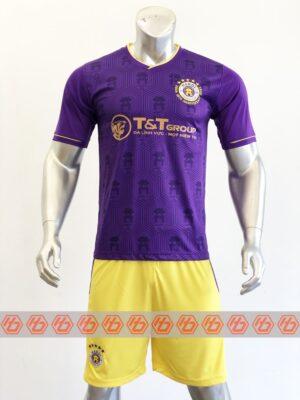 Quần áo đá banh CLB Hà Nội màu Tím mùa giải 21-22