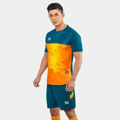 Áo bóng đá không logo Bul Bal - 6CITY màu Cam