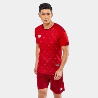 Áo bóng đá không logo Bul Bal - 6CITY màu đỏ