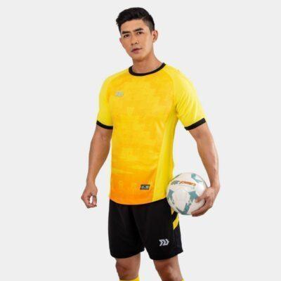 Áo bóng đá không logo Bul Bal - 6CITY màu vàng