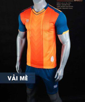Áo bóng đá không logo cao cấp BULBAL LASER màu Cam