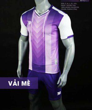 Áo bóng đá không logo cao cấp BULBAL LASER màu Tím