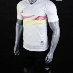 Áo bóng đá không logo cao cấp BULBAL NAZI màu Trắng