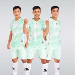 Áo bóng đá không logo cao cấp VICTORY UV EGAN màu Xanh Ngọc