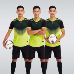 Áo bóng đá không logo thiết kế cao cấp WINNER màu Xanh Chuối