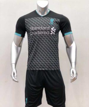 Quần áo bóng đá Liverpool màu Đen Rằn Ri mùa giải 19-20