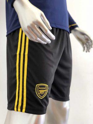 Quần áo bóng đá Tay dài Arsenal màu Xanh Đen mùa giải 19-20