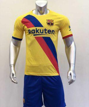 Quần áo bóng đá BARCELONA màu Vàng mùa giải 19-20