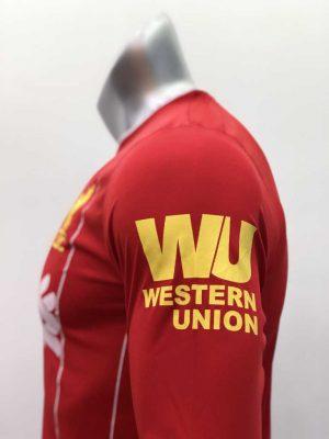 Quần áo bóng đá Tay dài Liverpool màu Đỏ mùa giải 19-20