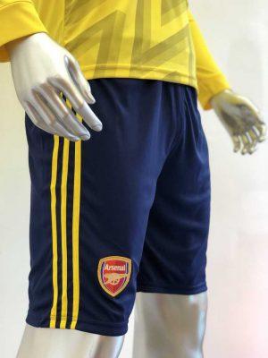 Quần áo bóng đá Tay dài Arsenal màu Vàng mùa giải 19-20