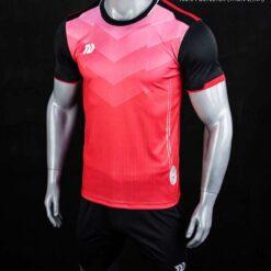 Áo bóng đá không logo cao cấp BULBAL VICTOR màu Đỏ