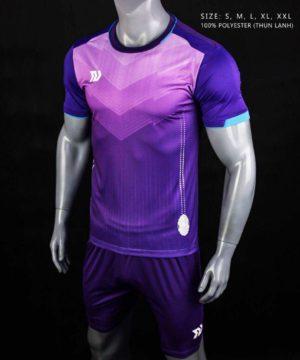 Áo bóng đá không logo cao cấp BULBAL VICTOR màu Tím