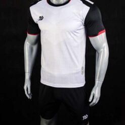 Áo bóng đá không logo cao cấp BULBAL VICTOR màu Trắng