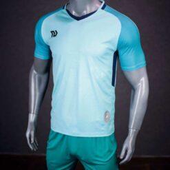 Áo bóng đá không logo cao cấp BULBAL VISION màu Xanh Ngọc