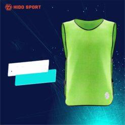 Áo pitch lưới bóng đá màu XANH LÁ