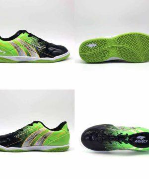 Giày đá banh đế bằng PAN FORCE Sân cỏ nhân tạo Màu Xanh Chuối mới