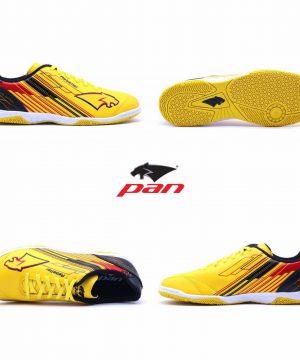 Giày đá banh đế bằng PAN REBELLER Sân cỏ nhân tạo Màu Vàng mới