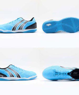 Giày đá banh đế bằng PAN ZENITH Sân cỏ nhân tạo Màu Xanh Da mới