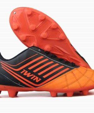 Giày đá banh Đế đinh IWIN VIGOR Sân cỏ tự nhiên màu Cam mới
