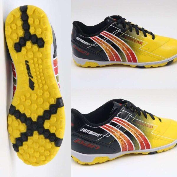 Giày đá banh Đế đinh PAN FORCE Sân cỏ nhân tạo Màu Vàng mới