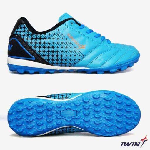 Giày đá banh Đế đinh TF IWIN SUPERSTAR Sân cỏ nhân tạo màu Xanh Chuối