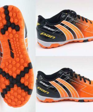 Giày đá banh Đế Đinh TF PAN FORCE Sân cỏ nhân tạo màu Cam mới