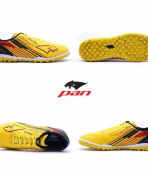 Giày đá banh Đế đinh TF PAN REBELLER Sân cỏ nhân tạo Màu Vàng mới