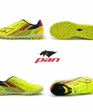 Giày đá banh Đế đinh TF PAN REBELLER Sân cỏ nhân tạo Màu Xanh Chuối mới