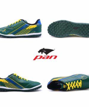 Giày đá banh Đế đinh TF PAN REBELLER Sân cỏ nhân tạo Màu Xanh mới