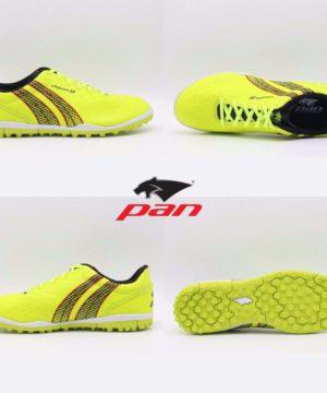 Giày đá banh Đế đinh TF PAN VIGOR 8 Sân cỏ nhân tạo Màu Xanh Chuối mới