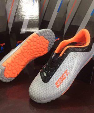 Giày đá bóng Trẻ Em EBET Sân cỏ nhân tạo Màu Xám mới