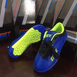 Giày đá bóng Trẻ Em EBET Sân cỏ nhân tạo Màu Xanh Bích mới
