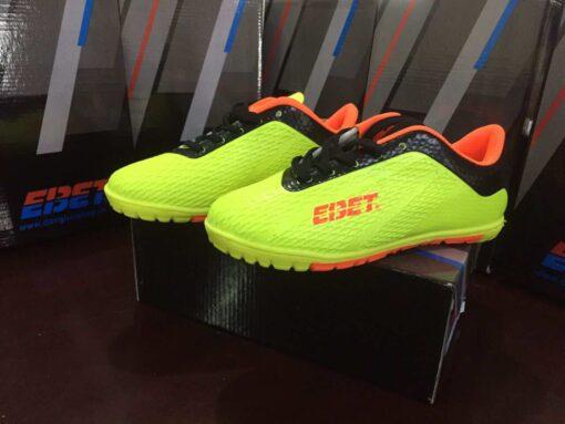 Giày đá bóng Trẻ Em EBET Sân cỏ nhân tạo Màu Xanh Chuối mới