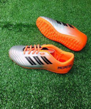 Giày đá bóng Trẻ Em PREDATOR Sân cỏ nhân tạo Màu Cam mới