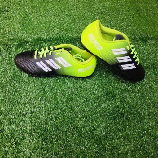 Giày đá bóng Trẻ Em PREDATOR  Sân cỏ nhân tạo Màu Xanh Đen mới