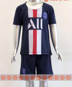 Quần áo bóng đá Trẻ em PSG màu Xanh Đen mùa giải 19-20